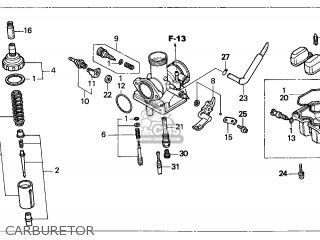 (16100-KGA-E02) CARBURETOR assembly