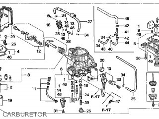 (16100-HN1-305) CARBURETOR assembly