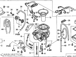 (16100-KPB-644) CARBURETOR assembly
