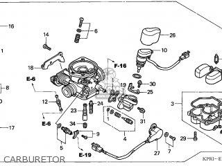 (16100-KPV-902) CARBURETOR assembly