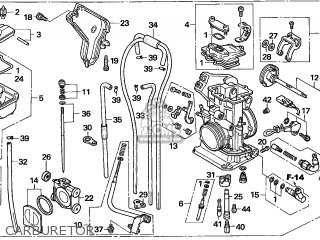 (16100-KSC-674) CARBURETOR assembly
