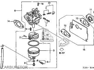 (16100-Z0J-003) CARBURETOR assembly (