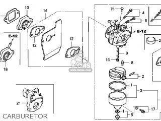 (16100-Z0L-782) CARBURETOR assembly (