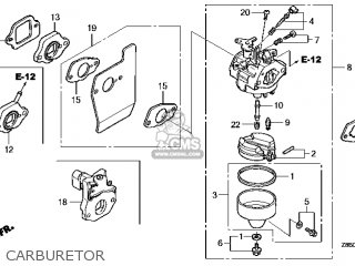 (16100-Z0L-853) CARBURETOR assembly