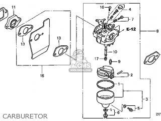 (16100-Z0Y-821) CARBURETOR assembly (
