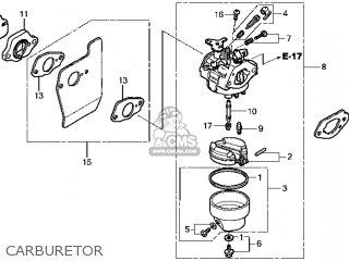 (16100-Z0Y-813) CARBURETOR assembly (