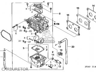 (16100-Z0N-805) CARBURETOR assembly