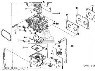 (16100-Z0N-815) CARBURETOR assembly