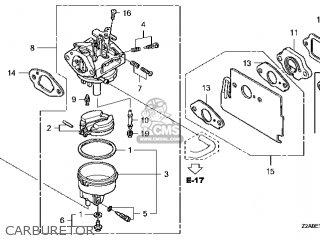 (16100-Z2A-013) CARBURETOR assembly (