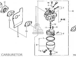 (16100-Z2B-J03) CARBURETOR assembly (