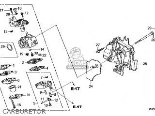 (16100-Z0Z-805) CARBURETOR assembly