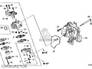 (16100-Z3F-843) CARBURETOR assembly