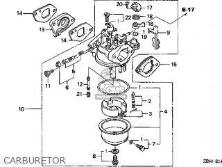 (16100-ZE6-W01) CARBURETOR,ASSY (