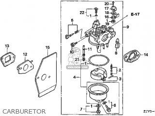 (16100-Z1V-801) CARBURETOR assembly (