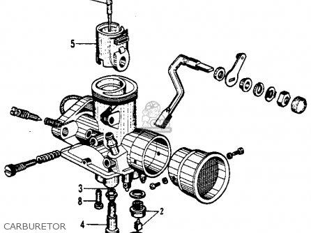 Honda Ca110 Sport 50 1963 Parts
