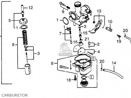 16100 ka2 034 carburetor assy xr200r 1982 c usa 16100ka2014 rh cmsnl com 2004 honda crf50 carburetor diagram 2006 honda crf50 carb adjustment