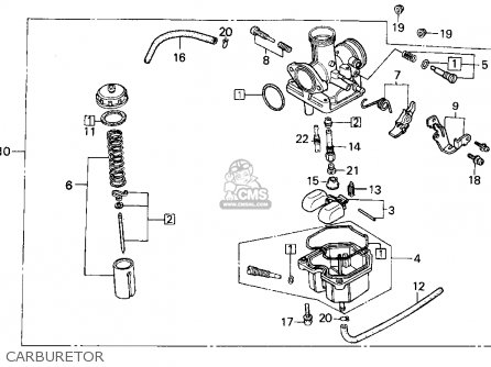 (16100HF1671) CARBURETOR Assembly