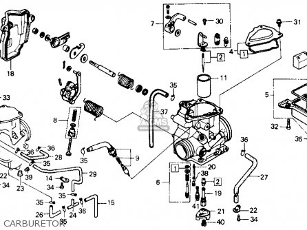 carburetor_mediumhu0305017d_e481 16100 ha0 033) carburetor,assy atc250es big red1985 (f) usa wiring diagram for 1987 honda 250es at eliteediting.co