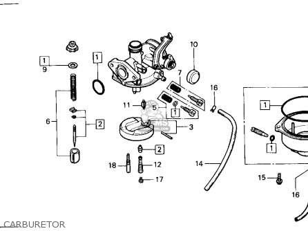 (16100HC3034) CARBURETOR assembly