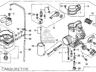 (16100-MN1-681) CARBURETOR Assembly (