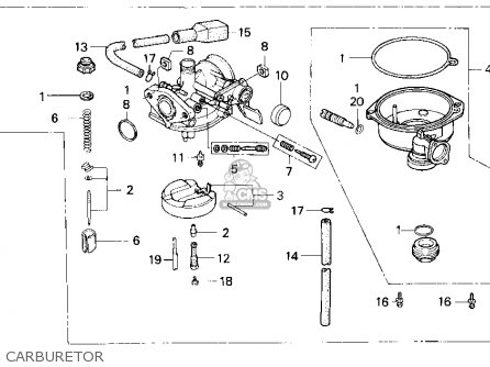 (16101-HF7-P00) CARBURETOR Assembly (