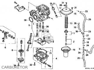 (16100-KEN-671) CARBURETOR assembly