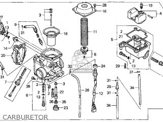 (16100-HN0-A02) CARBURETOR assembly
