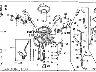 honda keihin carburetor diagram 50cc