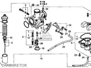 (16100-HN6-305) CARBURETOR assembly