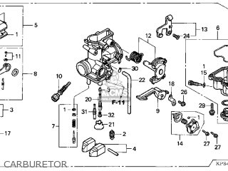 (16100-KPS-902) CARBURETOR assembly
