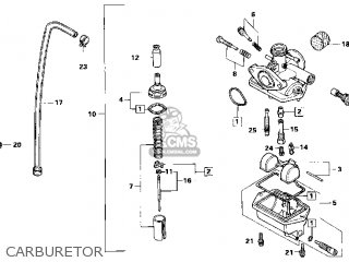 CARBURATOR assembly, (PF