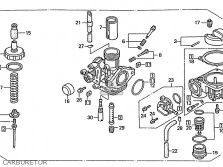 honda xrm 125 engine parts