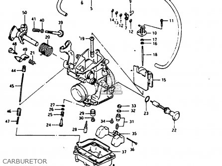 CARBURETOR ASSEMBLY TM28