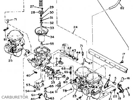 Xs1100 Carburetor Diagram