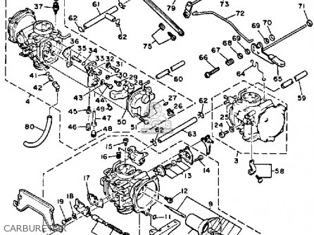 honda big red 250 carburetor diagram