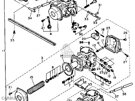 Yamaha 1987 Fz750t Fz750 Street Motorcycle Parts