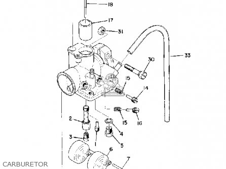 Yamaha Pw80 Engine Diagram