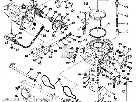 Daewoo Lanos Parts And Engine Diagram moreover Arctic Cat 500 Wiring Diagram 2005 together with Mikuni 2 as well Polaris Trail Boss 330 Mag o Wiring Harness together with 2000 Yamaha Gp1200 Starter Motor Exploded Diagram And Parts. on honda motorcycle wiring diagrams