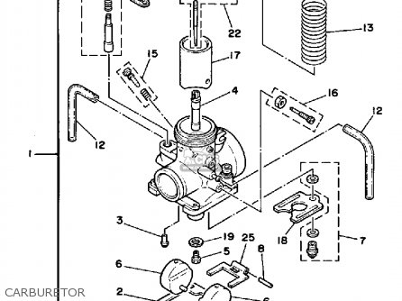 yfz 450 carburetor diagram raptor carburetor diagram