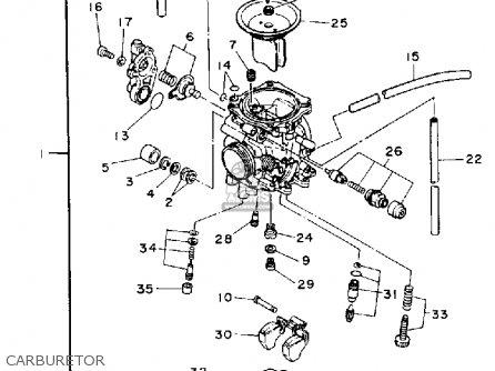 Pilot Screw Set Xt225 Xt225c 1994 (r) Usa California 4BE1410500