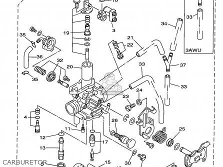 Yamaha Road Tt350s Tt350 Off Motorcycle Parts