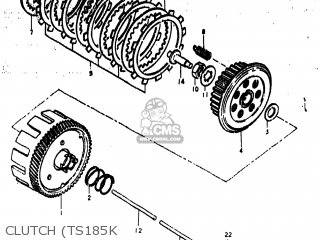 (21200-29003) GEAR ASSEMBLY,PRIMARY DRIVE