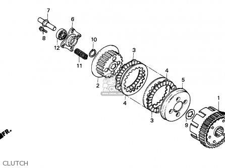 outer comp clutc fits cg125 1996 t england order at cmsnl rh cmsnl com honda cbr 125 r wiring diagram honda cg 125 cdi wiring diagram