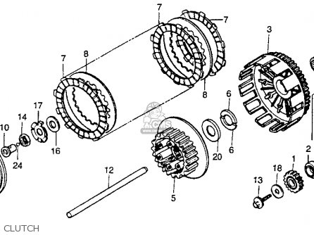 DISK CLUTCH,FRICT