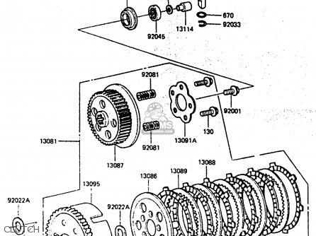 Clutchassy Kx80f3 1985 130811179 – Kx80 Engine Diagram