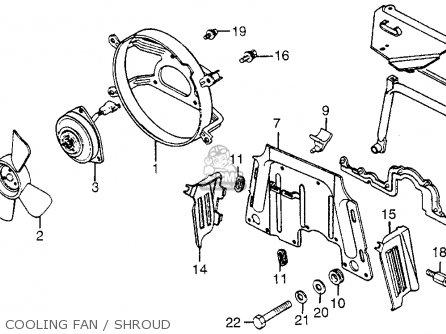 Honda Gl1200i 87 Gl1200i Goldwing Interstate 1987 Parts