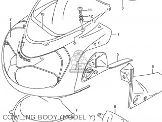 Tape, Body Cowling, Front photo