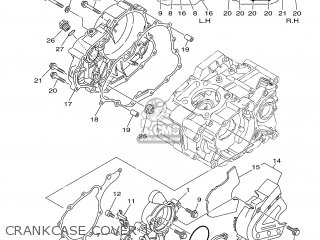 Gasket, Crankcase Cover 2 (nas) photo
