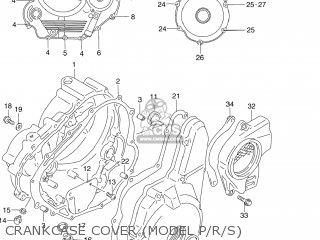 (11483-15D02) GASKET,MAGNETO COVER