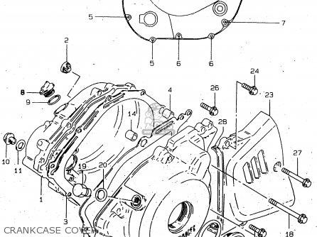 3 Cylinder Kawasaki Engine
